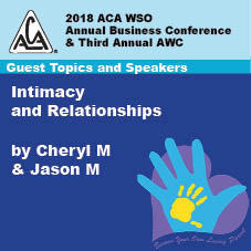 2018 AWC - Cheryl M & Jason M - Intimacy & Relationships  (CD not available; download only)