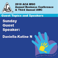2018 AWC -Daniella-Katine N - Sunday Speakers   (CD not available; download only)