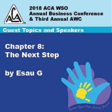 2018 AWC - Esau G - Chapter 8: The Next Step  (CD not available; download only)