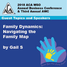 2018 AWC - Gail S - Family Dynamics: Navigating The Family Map  (CD not available; download only)