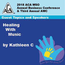 2018 AWC - Kathleen C- Healing With Music  (CD not available; download only)