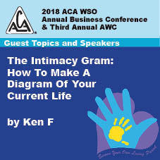 2018 AWC - Ken F - The Intimacy Gram: How To Make A Diagram Of Your Current Life  (CD not available; download only)