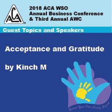 2018 AWC - Kinch M - Acceptance & Gratitude (CD not available; download only)