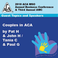 2018 AWC - Couples In ACA - Pat H & John H/Tania C & Paul G (CD not available; download only)