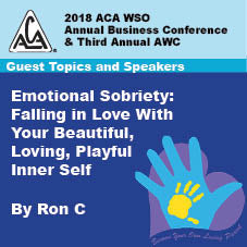 2018 AWC - Ron C - Emotional Sobriety: Falling In Love With Your Beautiful, Loving, Playful Inner Self (CD not available; download only)