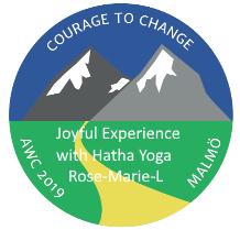 2019 AWC - Joyful Experience with Hatha Yoga - Rose-Marie L -  Sweden