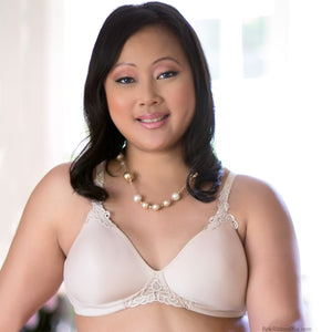 Petite T-shirt Mastectomy Bra by American Breast Care