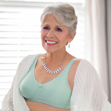 e550799954 Leisure and Post-op Mastectomy Bra Style 110 (Mint) by American Breast Care