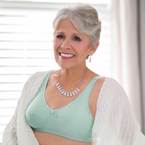 Leisure and Post-op Mastectomy Bra (Mint) by American Breast Care