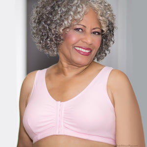 Leisure and Post-op Mastectomy Bra (Pink) by American Breast Care