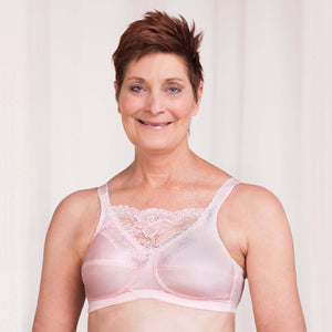 4019 Jessica Mastectomy Bra (Powder Pink) by Trulife