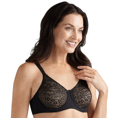 Black Annette Underwire Mastectomy Bra by Amoena