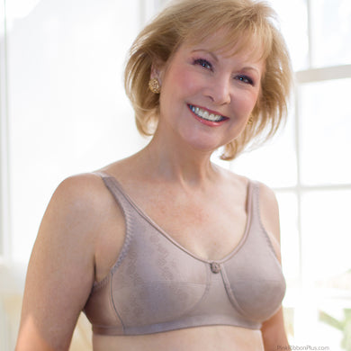 Rose Mastectomy (Cocoa) Bra by American Breast Care