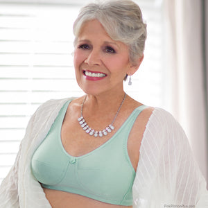 Rose Mastectomy (Mint) Bra by American Breast Care