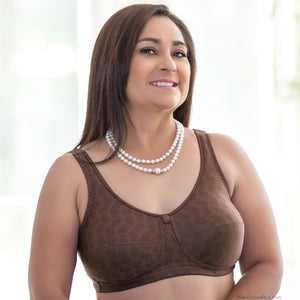 Rose Mastectomy (Mocha) Bra by American Breast Care