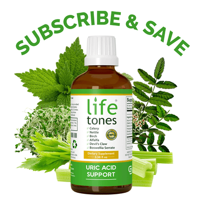 Lifetones Uric Acid Support  | Subscribe & Save