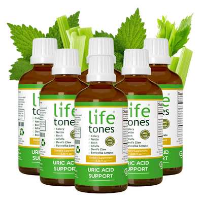 Lifetones Uric Acid Support | 3.38 fl oz