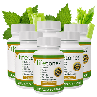 Lifetones Uric Acid Support Capsules | Subscribe & Save
