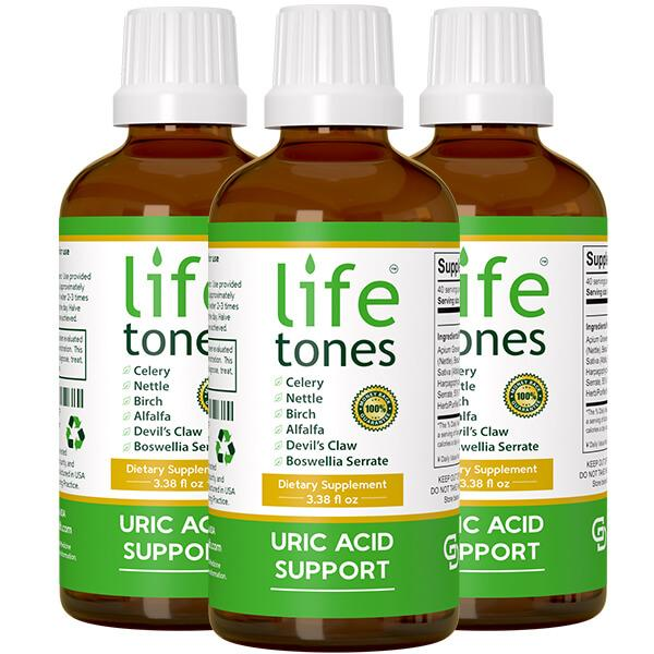 Lifetones Uric Acid Support | 3 Pack