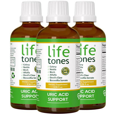 Lifetones Uric Acid Support - 3 Pack