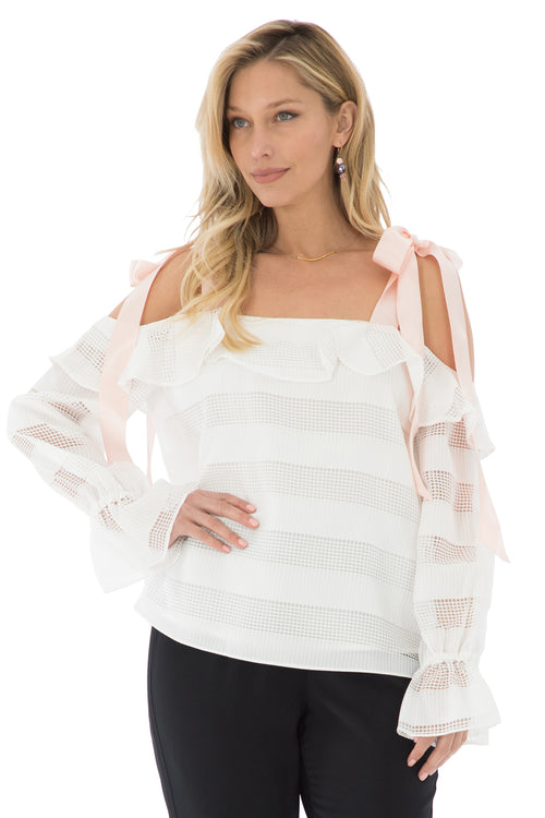 Maya Shoulder Blouse