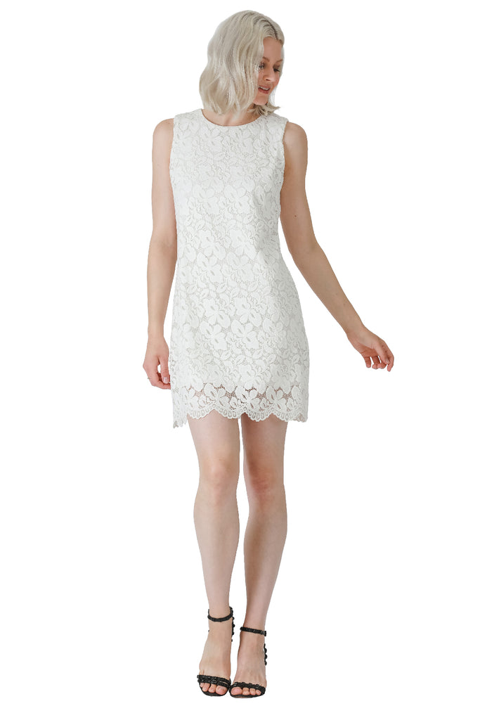 Camille Strech Lace Dress