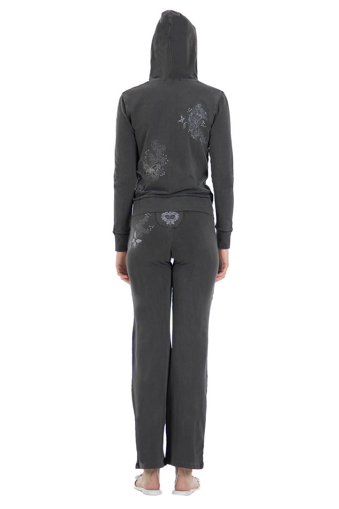Embroidered & Embellished Sweater & Pant Set