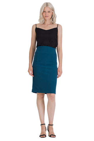 Regal Pencil Skirt