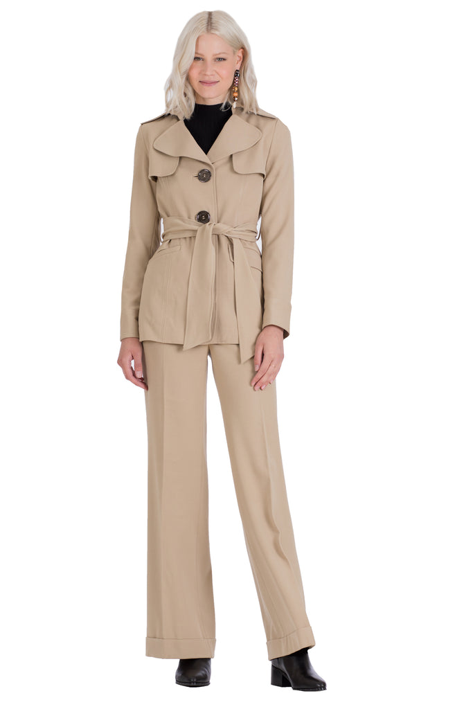 Safari Trench Coat Jacket