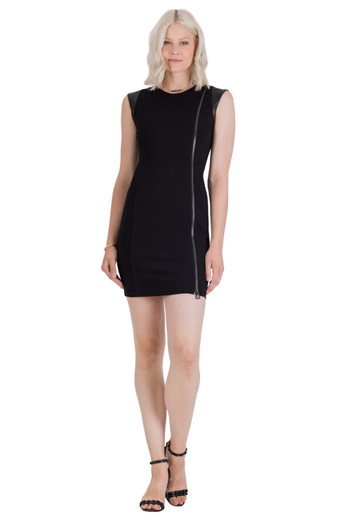 Power Ponte Cap Sleeve Dress
