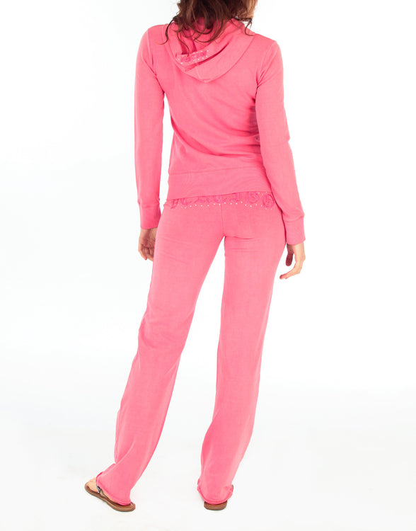 Vintage Wash Jog Sweater & Pant Suit