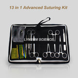 13 in 1 Advanced Medical Skin Suture Training Kit