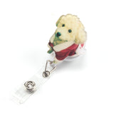Doggy Mini Cartoon ID Badge Holder