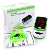 Pulse Oximeter with LED Display in 4 Color