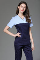 V-neck Women's Nursing Scrub Set