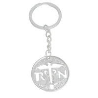 Angel Wings Cross  Nurse Keychain