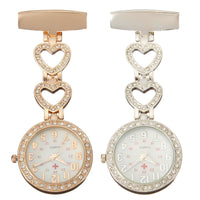 Heart Shaped Hanging Nurse Watch