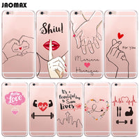 Heart Silicone Phone Cover