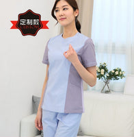 Two Tone Nurse Scrub Set