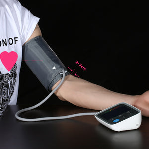 Digital Blood Pressure Monitor with Adapter