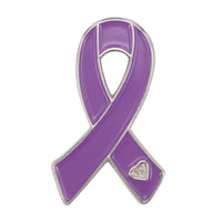 Purple Ribbon Pins