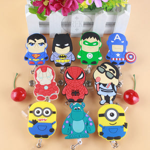 Silicone Cartoon Badge Holder