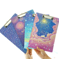 Galaxy Night Clipboard