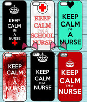 Keep Calm I am a Nurse Phone Case