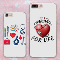 Nurse  Heart Style case for Apple iPhone SE 5 5s 7 7Plus 6 6s Plus