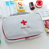 Portable Medicine Storage Bag First Aid Bag Emergency Survival Storage Case Organizer