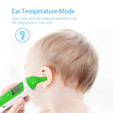 RU Stock Koogeek Smart Bluetooth Thermometer Infrared Sensor Dual Modes Forehead & Ear Temperature Body Baby Thermometer