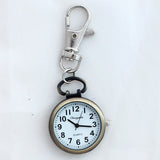 Silver Gold Bronze Pocket Key Watch