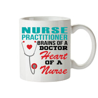 Nurse practitioner brains of a doctor mugs
