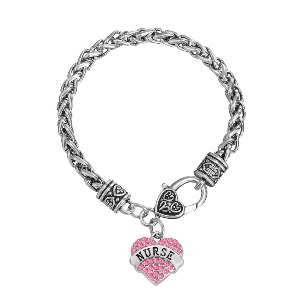 Nurse silver bracelet new arrivals